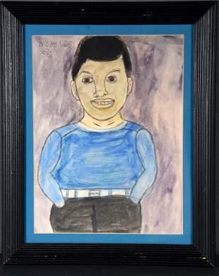 M.C. 5 Cent Jones. Boy In Blue.