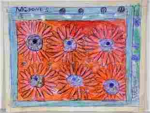 M.C. 5 Cent Jones. Flowers.