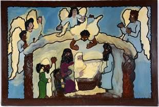 Carl Dixon. Birth Of Jesus In Bethlehem.