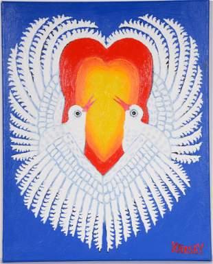 Kahsay Tsadkan. Peace Doves.