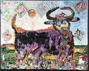 Jon Schooler. Bean Lock Moon Jumping Cow.