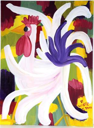 Barbara Wikle. Rooster.