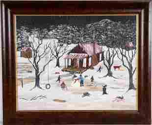 Barbara Presley. Cabin In The Snow.