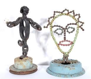 Stanley Papio. Bowler & Chain Face.