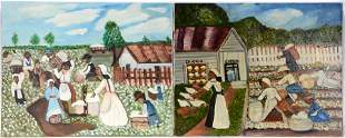 Billie Brewster. Cotton Harvesting Scenes.