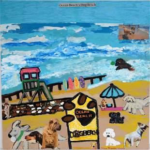 Tricia Stanson. Ocean Beach Dog.