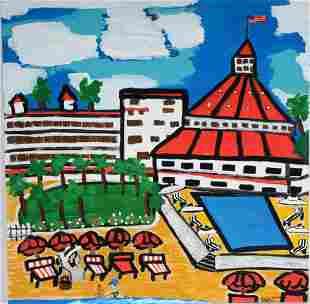 Tricia Stanson. Hotel Del Coronado.