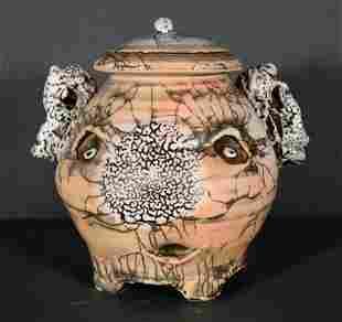 Andy Nasisse. Sugar Bowl With Lid.