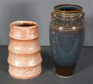 Jerry Maschinot & M. & M. Heywood. Two Pots.