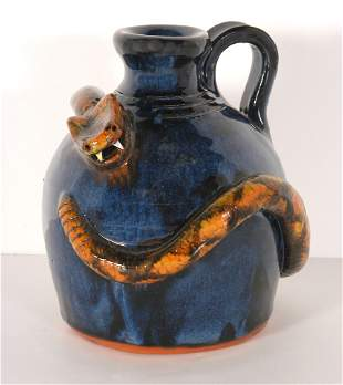 Stanley Ferguson. Jug With Coiled Snake.