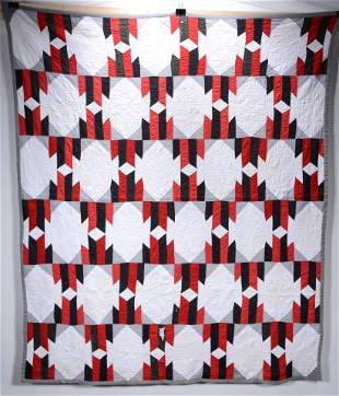 Native American Design Pattern Quilt.