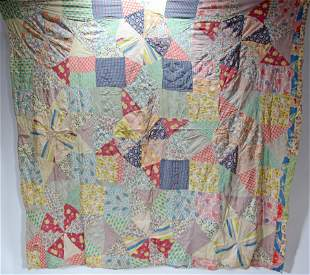 Fairy Belle Smith. Abstract African Am. Quilt.