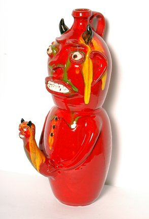 8: Randy Tobias.  Erotic Devil Jug.