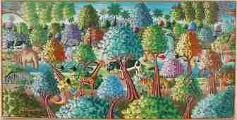 543: R. Mervilus. Tropical Haitian Forest.