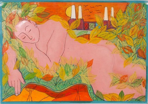 750: John Joseph Lucas. Sleeping Nude.