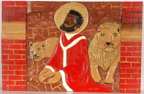 768: Jeffrey. Daniel In the Lion's Den.