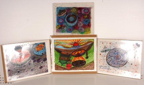 774: Ionel Talpazan Four Drawings.