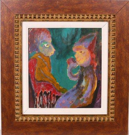 780: Gene Beecher. Tea For One Painting.