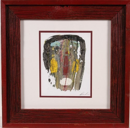 781: Michael Banks. Art Brut Face.
