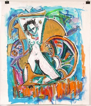 782: Neith Nevelson. White Nude.