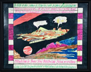 Prophet Royal Robertson. Spacecraft & Miscegenation