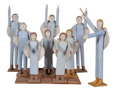 Fred Webster. Angel Choir.