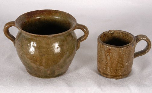 5: Anonymous Sugar Bowl and Short Cup.