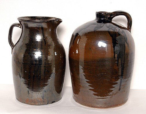 6: Anonymous Syrup Jug and Pitcher.