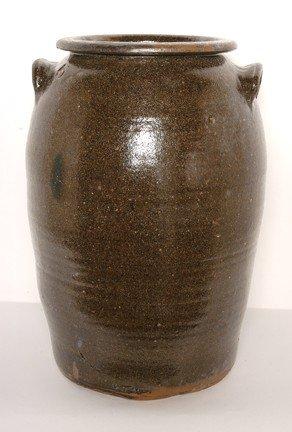 7: Early Utilitarian Five-Gallon Crock.