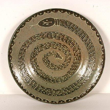 24: Jim Bozeman Rattlesnake Plate.