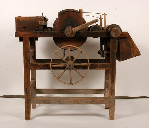 145: Eli Whitney Original Cotton Gin.