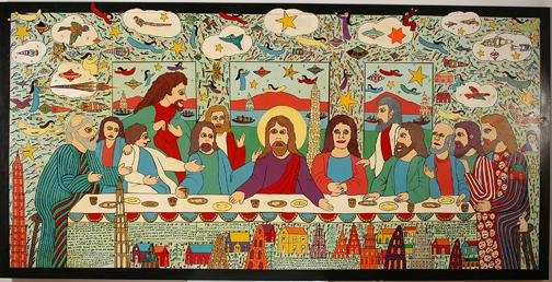 189: Howard Finster Lord's Supper.