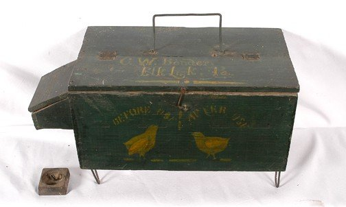 745: C.W. Bender (Elk Lick, PA) Bender Box.