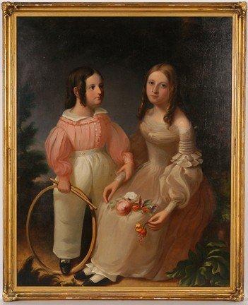 124: Margaret & John Loper of Philadelphia Portrait.