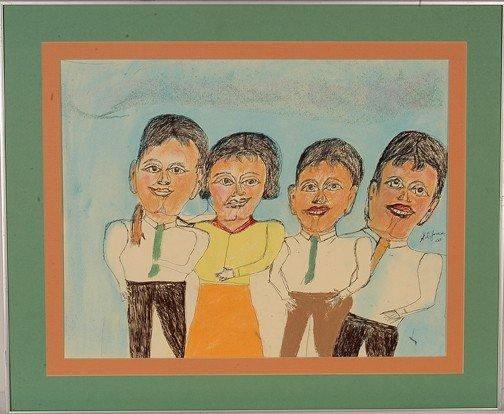 735: S.L. Jones One Girl Three Boys.
