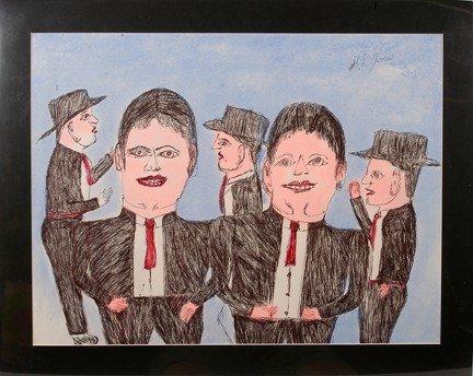 736: S.L. Jones Five Men.