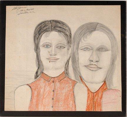 737: S.L. Jones Pair of Girls.