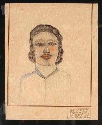 739: S.L. Jones Double-Sided Drawings.