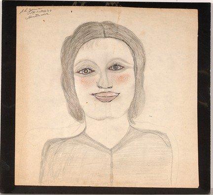 741: S.L. Jones Girl with Rosey Cheeks.