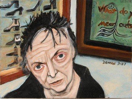 751: Eileen Doman Portrait of Phyllis Kind.