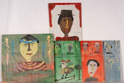 753: The Beaver Three Portraits.