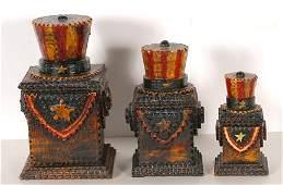 824 Hermitage de Artists Uncle Sam Tramp Boxes