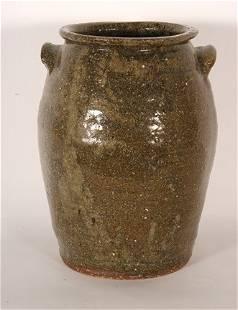 Southern Pottery. Two-Gallon Crock.