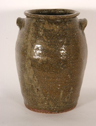 15: Southern Pottery. Two-Gallon Crock.