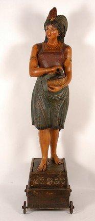 116: J. Engle. Cuban Girl Tobacconist Figure.
