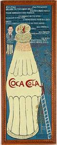 181: Howard Finster. Coca-Cola, #1,113.