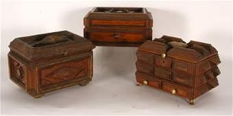 851 Three Tramp Boxes