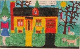 Charlies Dieter. Yellow House.