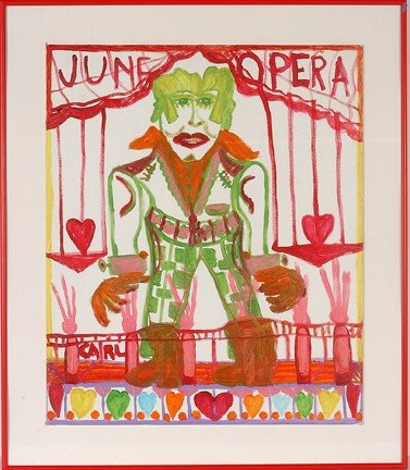 971: Carl Greenberg. June Opera.