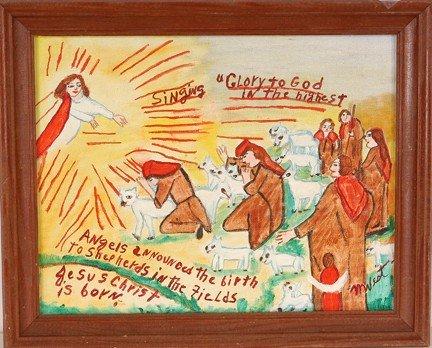 976: Myrtice West. Glory To God.